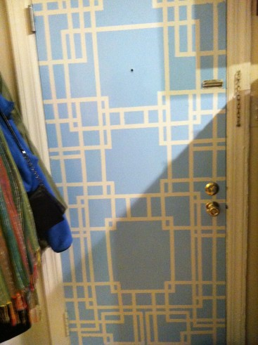 My Patterned Havana Blue Door